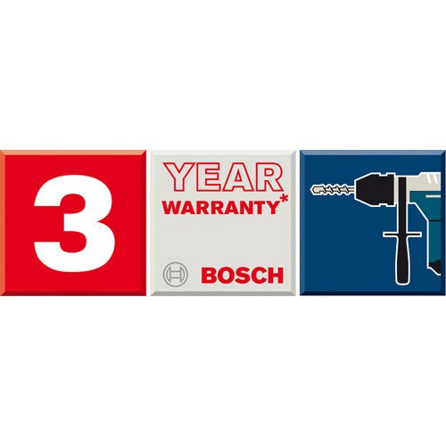 Bosch 3 Year Warranty Registration