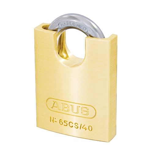 65CS Series Brass Padlocks Closed Shackle