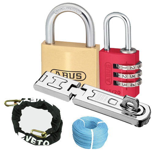 Pad Locks  & Security Chains