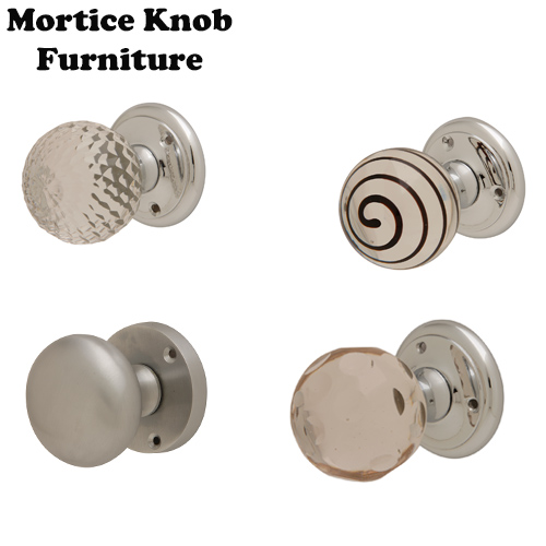 Mortice Knobs Furniture Round Rose