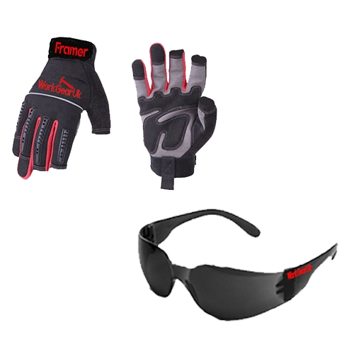 WorkGear Uk Safety Glass and Gloves