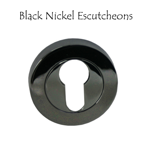 Black Nickel Escutcheons