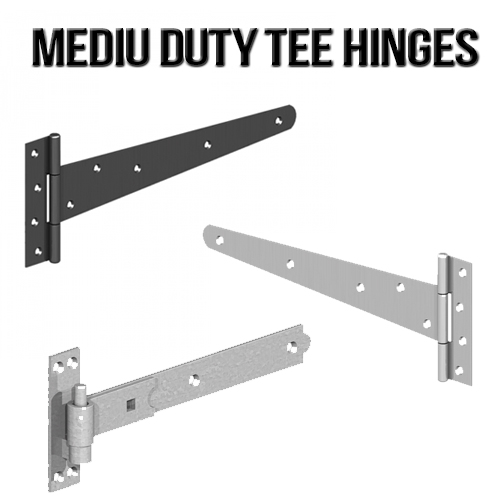 Light and Medium Duty Tee Hinges