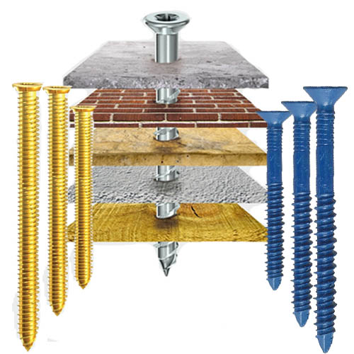 Multi Fix Concrete Masonry Screws