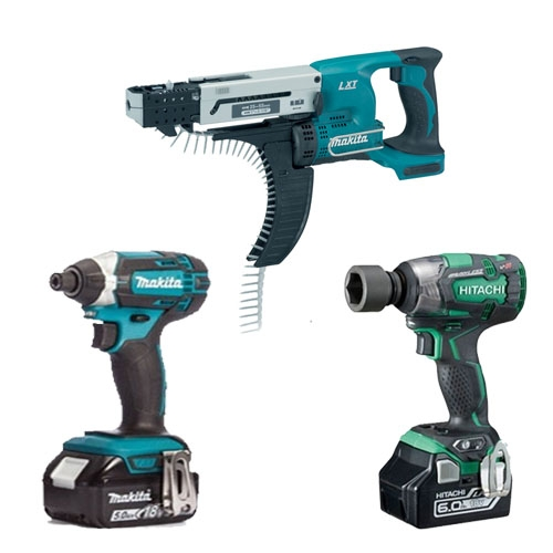 Screwdrivers & Impact Wrenches
