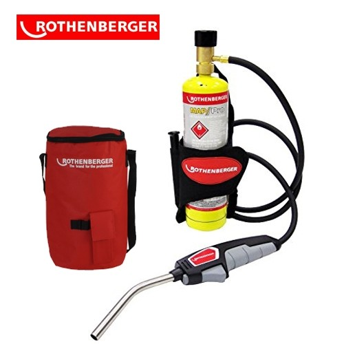 Rothenberger Trigger Torch With Hose And Holster 34120