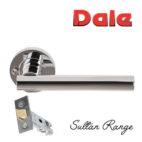 Sultan Door Handle Pack Bathroom Push Button Privacy - 57mm latch  DH003690-PRV