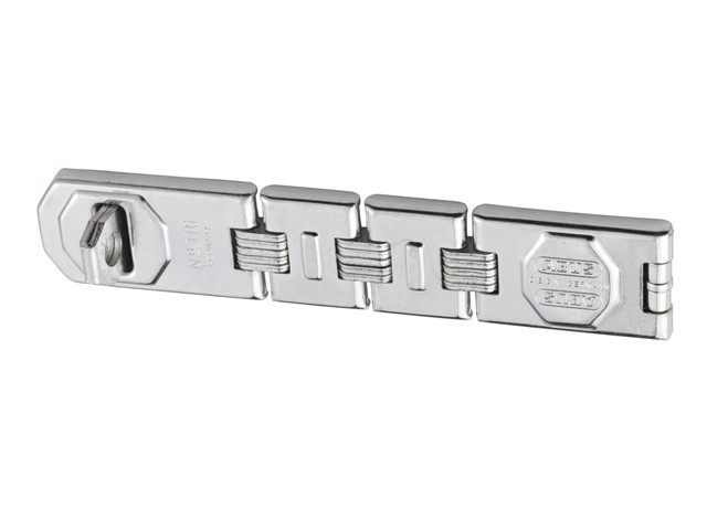 Hinged Hasp and Staple 230mm x 45mm
