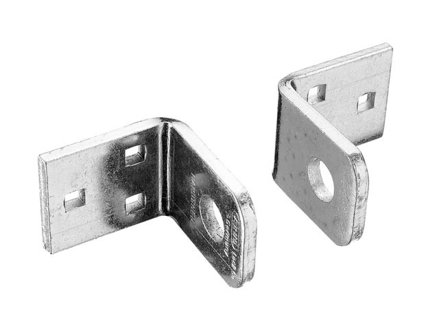 Locking Brackets Pair Carded 45mm x 38mm