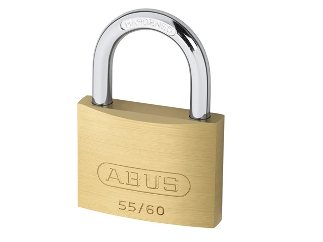 Brass Padlock 60mm Keyed