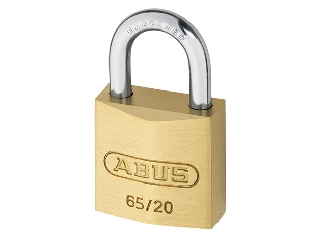 Brass Padlock 20mm Carded
