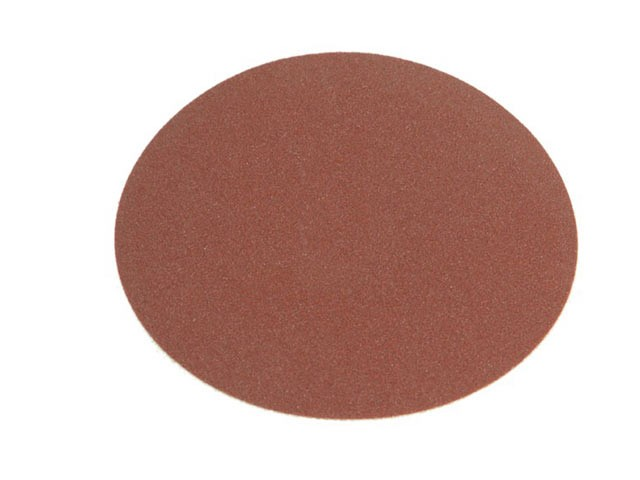 Faithfull FAIADSA15060 Self Adhesive Red PSA 150 mm Disc 60G (Pack of 25)