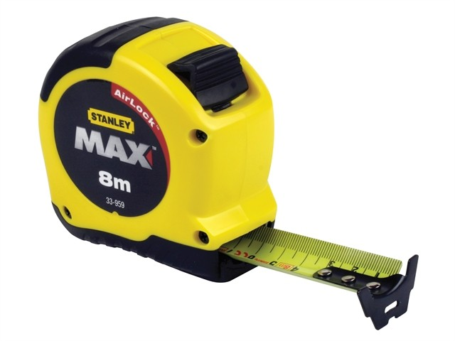 Stanley  Max Tape Rule 8m / 26ft STA533956