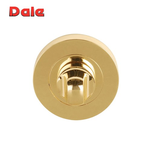 Polished Electro Brass Bathroom Turn & Release set DH0003617