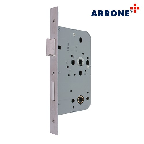 Mortice bathroom sashlock 72mm Square AR8103-S-60-SSS