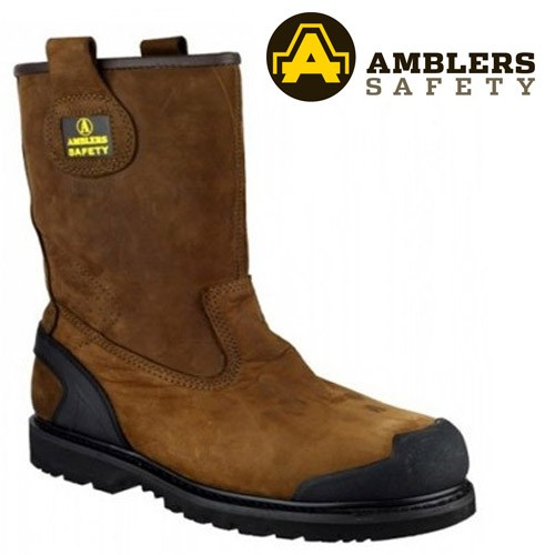 Amblers FS223 Nubuck Leather Rigger Boots