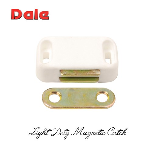 Dale Hardware 2226 Light Duty Magnetic Catch - White