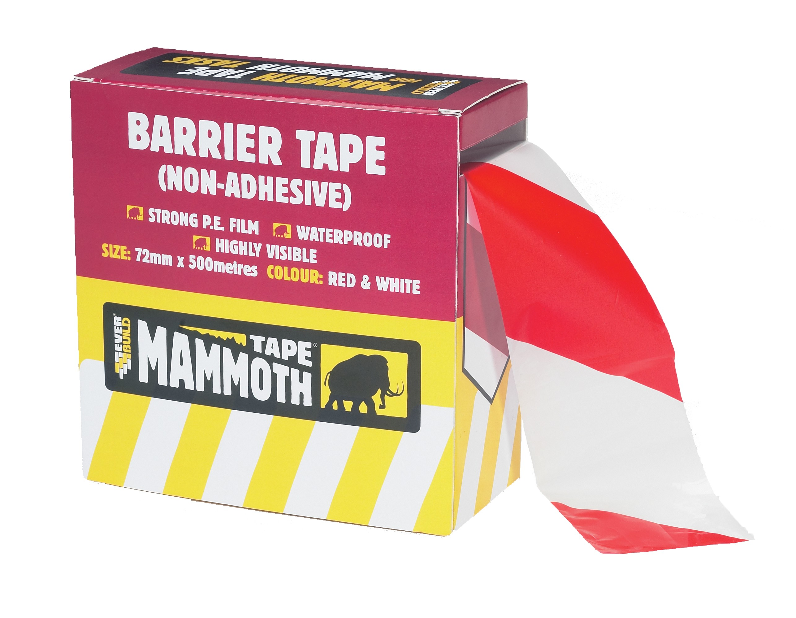 Everbuild Barrier Tape - 500m
