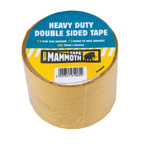 Everbuild Heavy Duty Double Sided Tape - 50mm x 5m