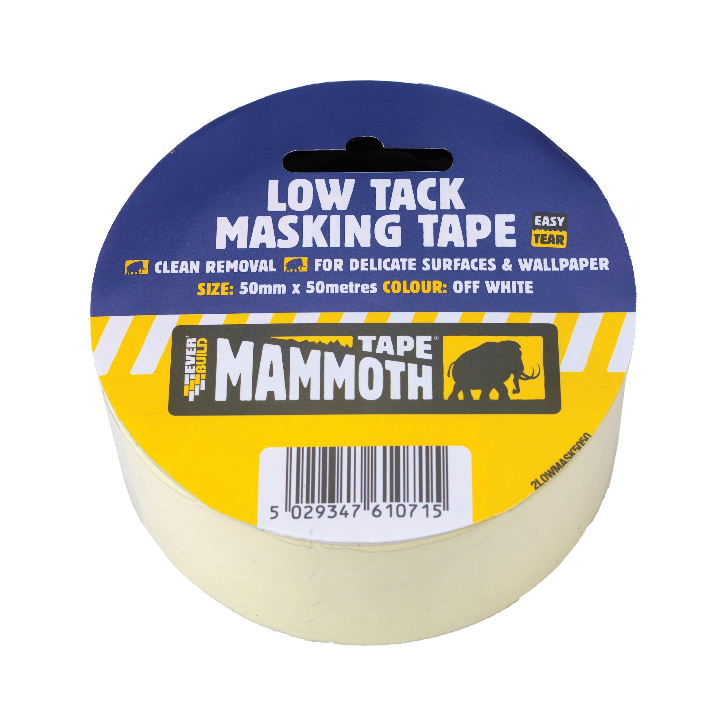 Everbuild Low Tack Masking Tape - 25mm x 25m