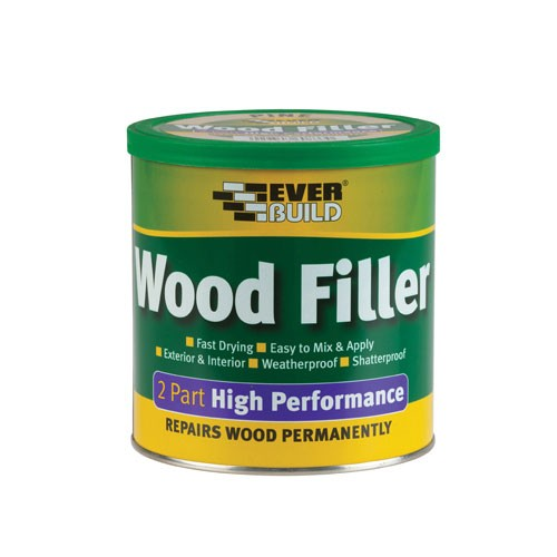 Everbuild 2 Part High Performance Wood Filler - Light 1.4kg