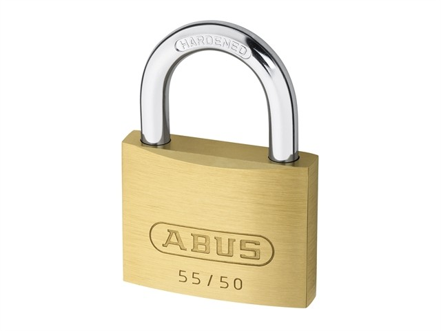 Brass Padlock 50mm Keyed