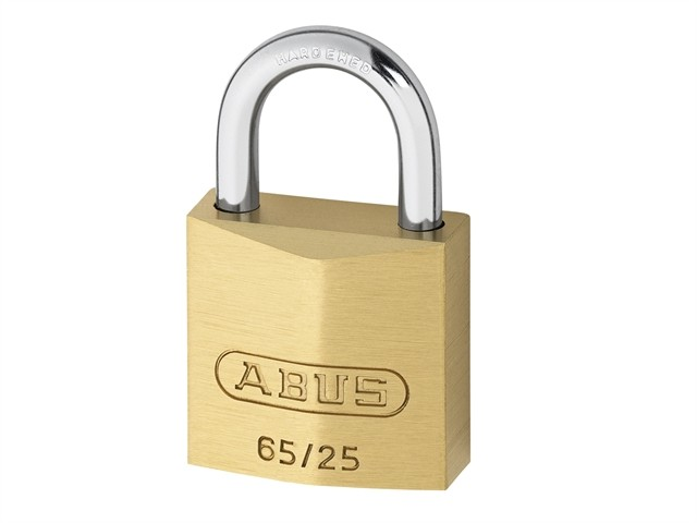 Brass Padlock 25mm Carded