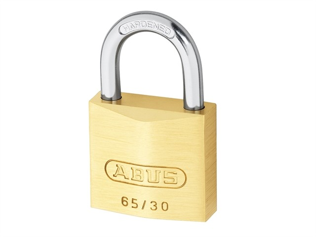 Brass Padlock 30mm Quad Pack