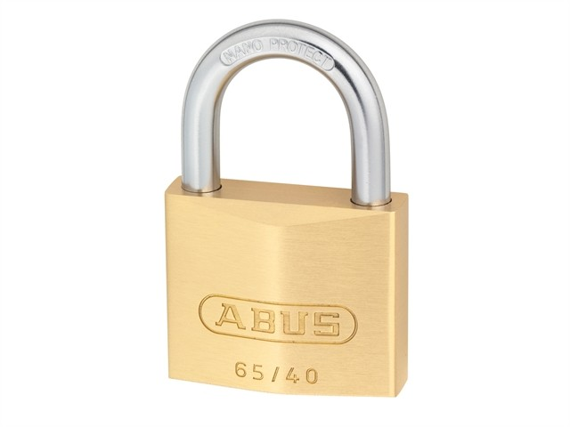 Brass Padlock 40mm Quad Pack
