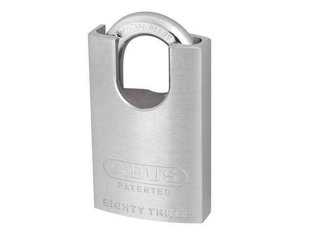 Hardened Brass Padlock Chrome 50mm