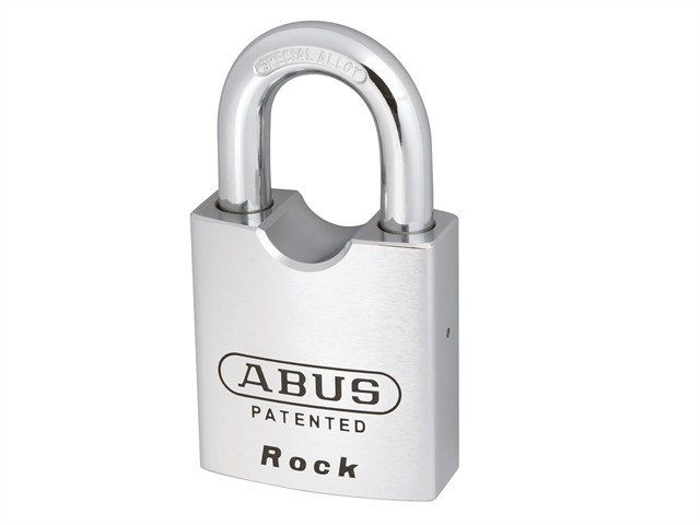 Rock Hardened Steel Padlock 55mm Keyed