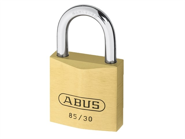 Brass Padlock 30mm Carded 85/30