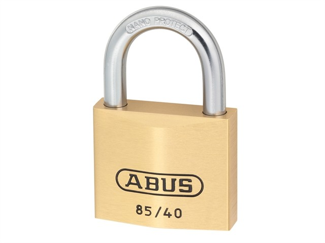 Brass Padlock 40mm Carded 85/40