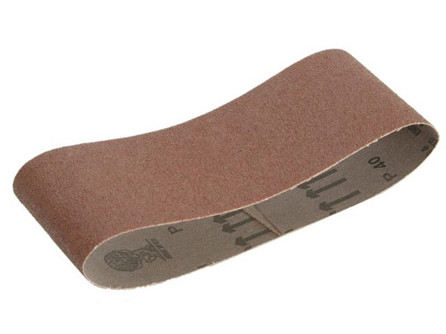 Faithfull FAIAB4106580 Cloth Sanding Belt 410mm x 65mm 80g