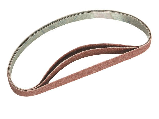 Faithfull FAIAB4551360 Cloth Sanding Belt 455mm x 13mm 60g