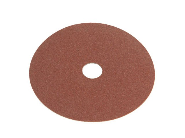 Faithfull FAIAD12580 Resin Bonded Fibre Disc 125mm x 22mm x 80g (Pack of 25)