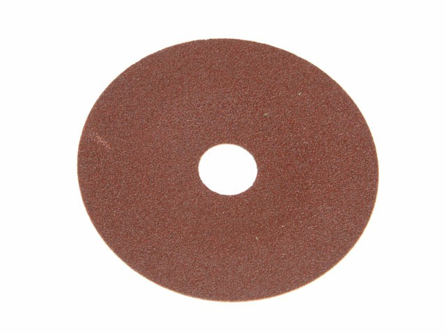 Faithfull FAIAD178120 Resin Bonded Fibre Disc 178mm x 22mm x 120g (Pack of 25)