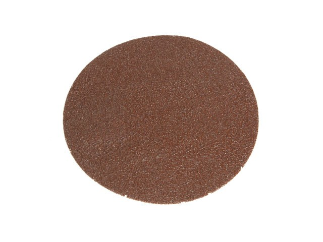 Faithfull FAIADHL125A Hook & Loop Sanding Disc 125mm Plain Assorted (Pack of 5)