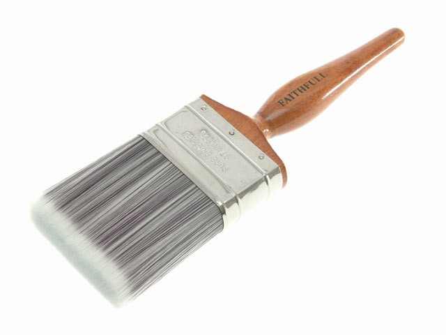 Faithfull 152503 Superflow Synthetic Paint Brush 75mm (3in)