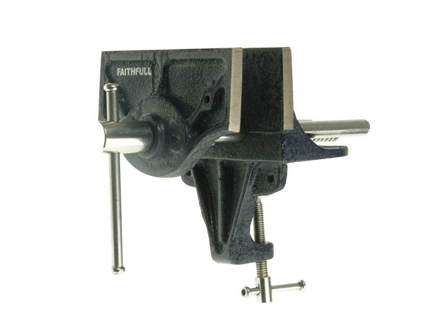 Faithfull Home Woodwork Vice 150mm (6in) - with Integrated Clam FAIV34