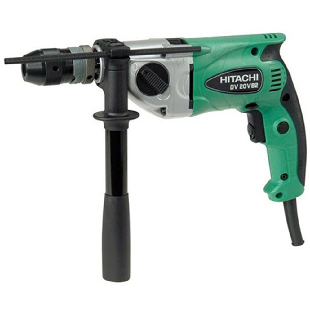 Hitachi DV20VB2 Rotary Impact Drill 13mm Keyless Chuck 240v