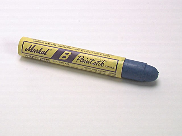 Markal Paintstick Cold Surface Marker Blue MKLBBLUE