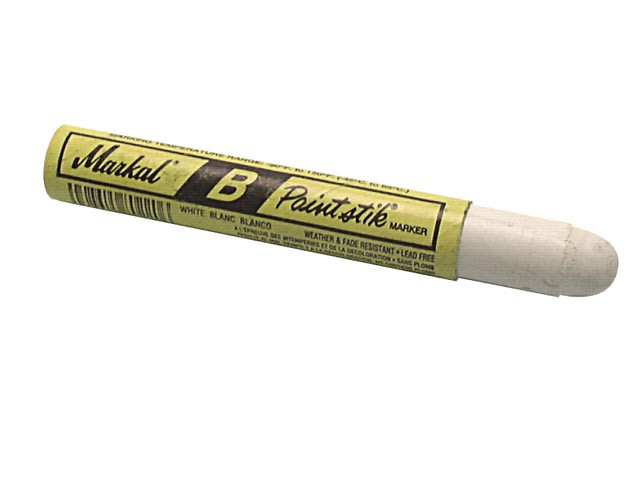 Markal Paintstick Cold Surface Marker White MKLBWHITE