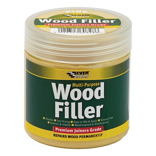 Everbuild Multi Purpose Premium Joiners Grade Wood Filler - 250ml