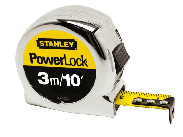 Stanley  Micro Powerlock Tape 3m / 10ft STA033523