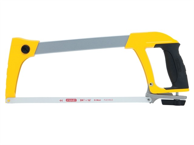 Stanley STA120110  Dynagrip Heavy-Duty Hacksaw 300mm (12 in)