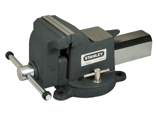 Stanley  MaxSteel Heavy-Duty Bench Vice 100mm 4in STA183066