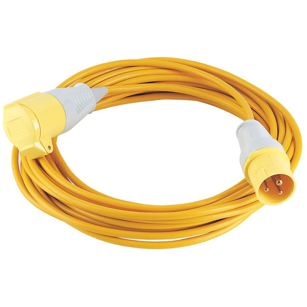 Defender E85111 Extension Lead 14m x 1.5mm x 16A - 110v