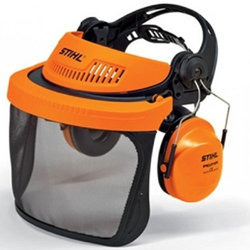 Stihl G500 Face And Ear Protection Nylon Mesh Visor