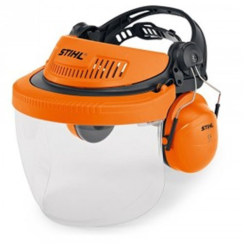 Stihl G500 PC Face And Ear Protection Polycarbonate Visor (00008840563)